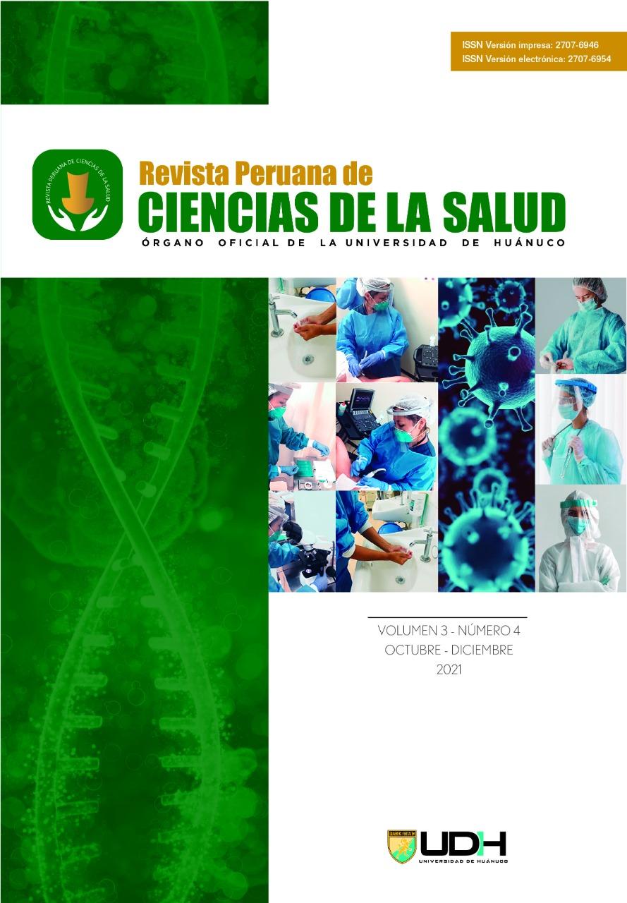 Ver Vol. 3 Núm. 4 (2021): Revista Peruana de Ciencias de la Salud (oct-dic)
